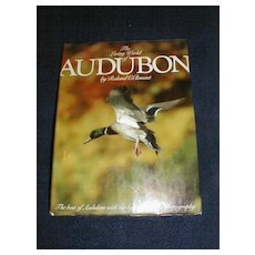 "Lovely Collectible Coffee Table Book, ""The Living World of Audubon"" Clement"