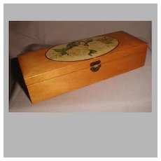 Lovely Sewing Accessory Box, James Chadwick & Bro.r