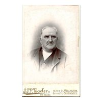 Cabinet Photograph of Older Gentleman, Wellington, Oakengates
