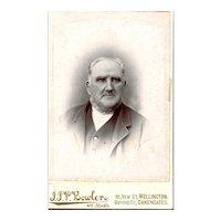 Cabinet Photograph of Older Gentleman, Wellington, Oakengates