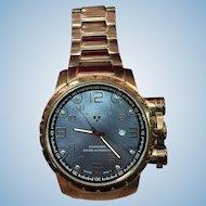 Vintage Mens Swiss Legend Automatic Watch Unique Dial Fancy