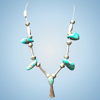 American Indian Squash Blossom Necklace
