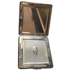 Sterling Silver Vintage Kigu Powder Compact