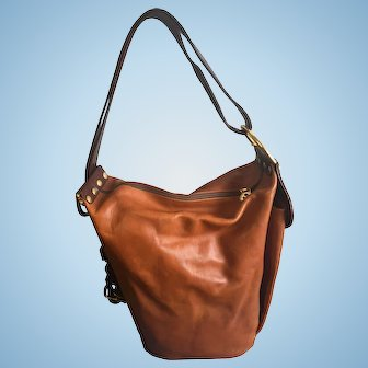 Marino Orlandi Transformer Bag Genuine Leather
