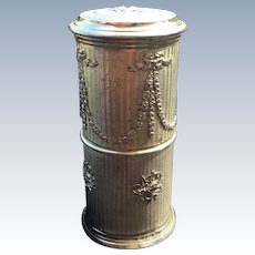 Cylindrical French Box