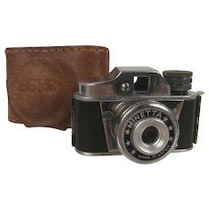 VIntage Minetta Spy Camera with Case