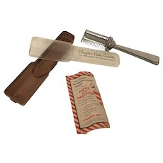 Vintage 1950's Playtex Hair Cutter In Original Box With Instructions Excellent Condition