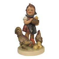 "Vintage 1948 Hummel Figurine #199/1 Goebel W. Germany ""Feeding Time"""