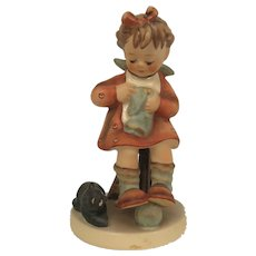 "Vintage Hummel Figurine #133 ""Mother's Helper""  Goebel W. Germany"