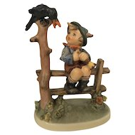 Vintage 1960 Hummel Figurine #342 Mischief Maker Goebel W. Germany