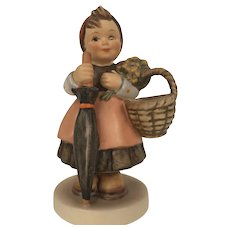 Vintage 1965 Hummel Figurine #350 On Holiday Goebel W. Germany