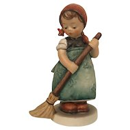 Vintage Hummel Figurine #171 Little Sweeper Goebel W. Germany