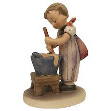 Vintage 1955 Hummel Figurine #330 Baking Day Goebel W. Germany