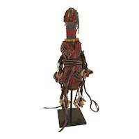 Vintage West African Fertility Doll Circa 1928 Cameroon