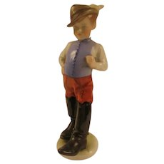 Tom Thumb Porcelain Figurine