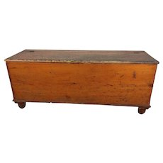 19th Century Primitive Feed Chest