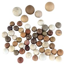Vintage Clay Marbles Early 1800s
