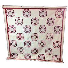 19th Century Pennsylvania Hand Made Quilt