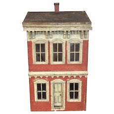 Antique 1838 Victorian Doll House