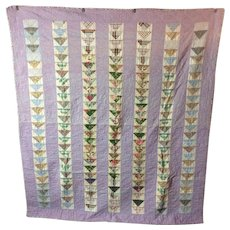 Vintage Flying Geese Pa Quilt