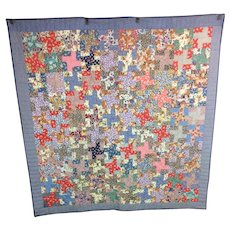 Vintage 1930 Hand made Pennsylvania Quilt