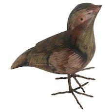 Antique Pennsylvania Hand Carved Bird