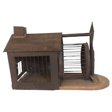 """Antique Store Display """"Critter"""" House"""