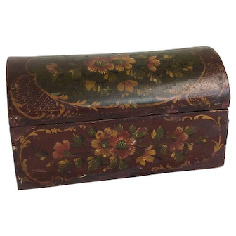 Antique Early Dome Top Box