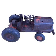 Vintage 1920s Toy Tractor