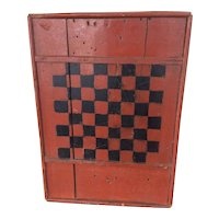 Antique Primitive Game Board