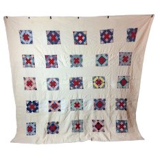Antique Square in a Square Pa Quilt