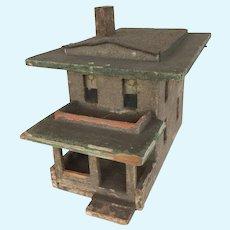 Antique Rare Doll House/ Model