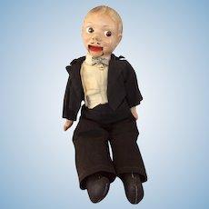 1930s Ventriloquist Doll Male