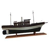Vintage Harbor Ferry / Tug Boat