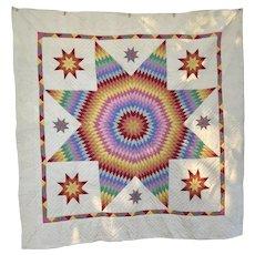 Vintage Sunrise PA Quilt