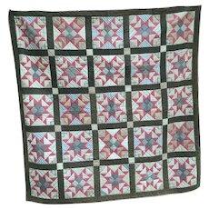 Vintage 4 Square Pa Quilt