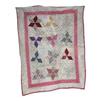 Vintage Child's Quilt made in Pennsylvania