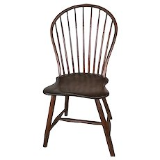 Antique Windsor Chair 1793-1817 signed T. Mason