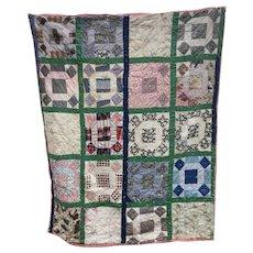 Vintage Pa Patch Quilt 1920s