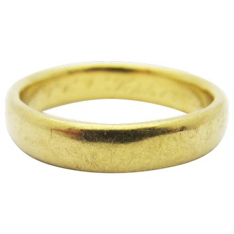 Antique 1888 Tiffany and Co. Wedding Band