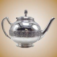 Gorham Sterling Tea Pot