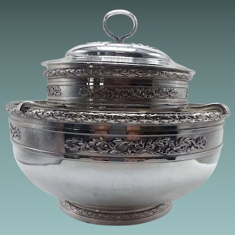 French 1st Standard Sterling Caviar Serving Bowl