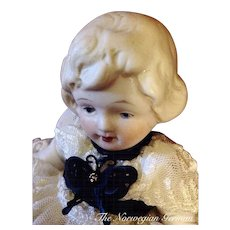 Sweetest Little Antique Parian Nippon Doll ~ 6in.