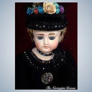 "Beautiful Johann Kestner Antique Fashion Doll ~ 28"""