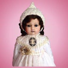 """Gorgeous Antique Motschmann (Sonnenberg Täufling) Doll ~ 24"""""""