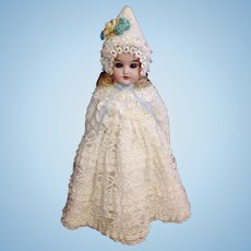 Darling Little Cuno & Otto Dressel Antique Doll ~ 12""