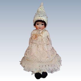 """Adorable Antique Fulper Doll ~ 29"""" ~ Big Girl!"""