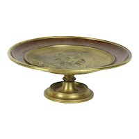 19thC French Gilded Bronze Tazza