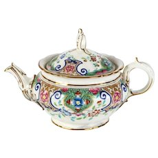 Mintons Hand-Painted Teapot