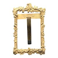 "Ovington 3""x5"" Brass Frame 19thC"
